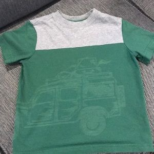 Boys Hanna Andersson Jeep Short Sleeve T- Shirt